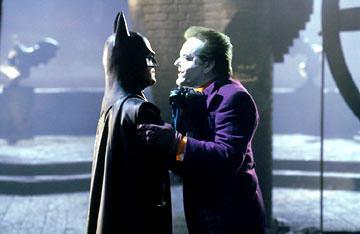 Batman y su amigo el payaso